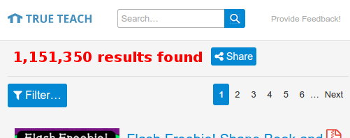 One million results